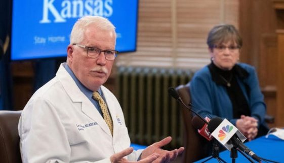 Lee Norman, head of the Kansas Department of Health and Environmen